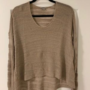 Helmut Lang open knit sweater
